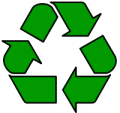 the universal recycling symbol is a Möbius strip
