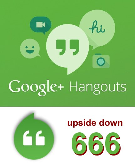 The Mark Of The Beast Code 666 Google Celebrates 666 With Hangouts