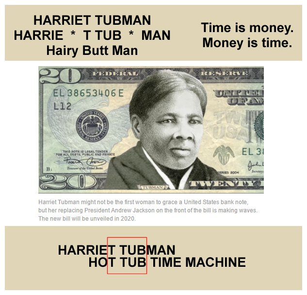The Open Scroll Blog Harriet Tubman On Future Money D Now