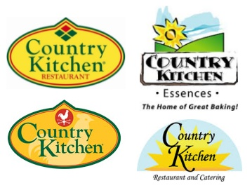 The Pair On Left Side Of This Collection Country Kitchen Logos Each Conceal An X Up Top Presenting Sun S Mark Instead Obvious