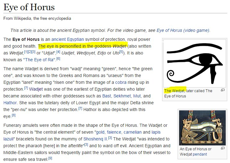 Eye Of Ra Wikipedia
